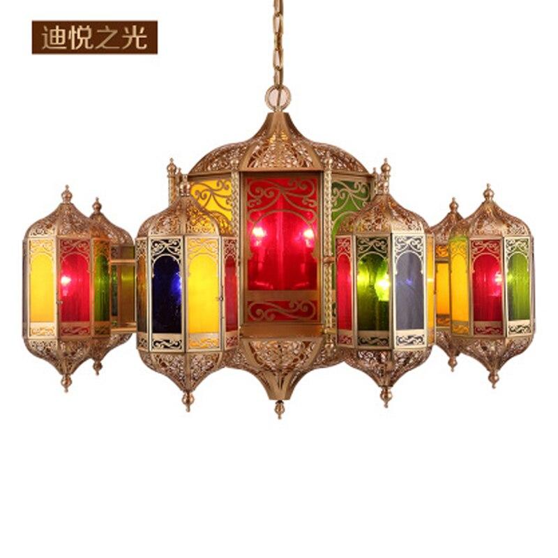2019 Muslim style pendant lights custom church copper kitchen lights hanging lamp luxury modern lighting for villa restaurant