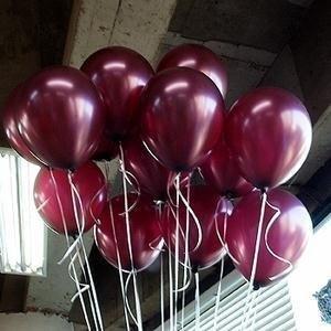 "Shiping Free Retail&Wholesale Germany 10"" advertising natural latex pearl claret balloons 100pcs/pack"