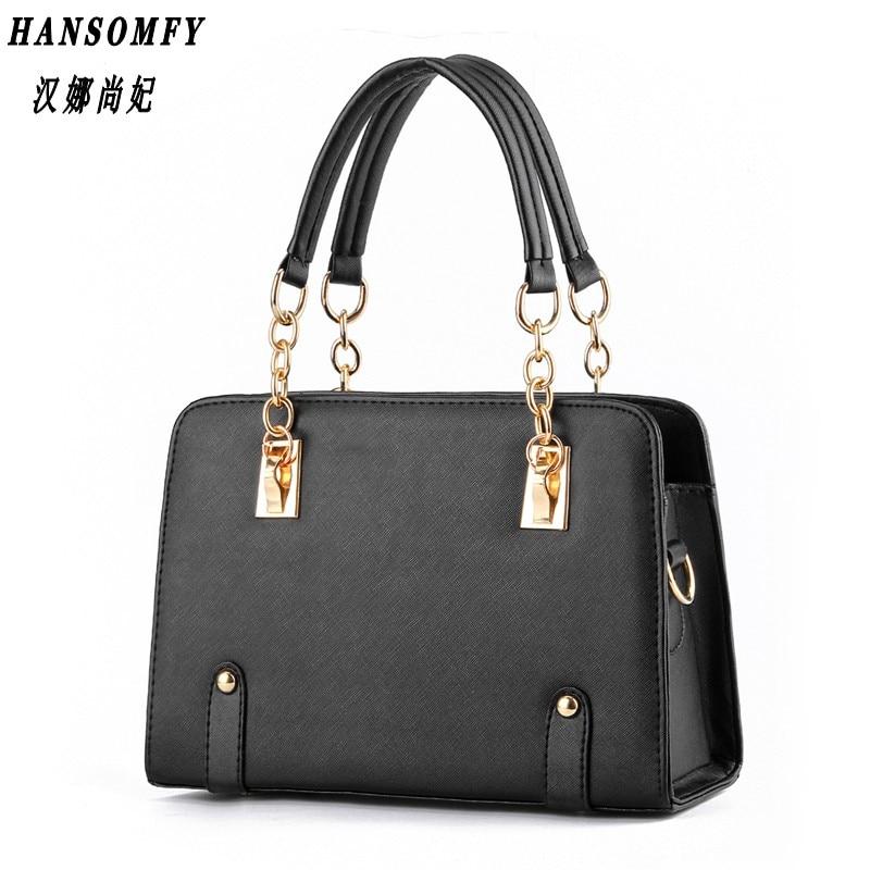 100% Genuine leather Women handbags 2018 New wave of female chain bag fashion handbags shoulder bag Messenger a generation