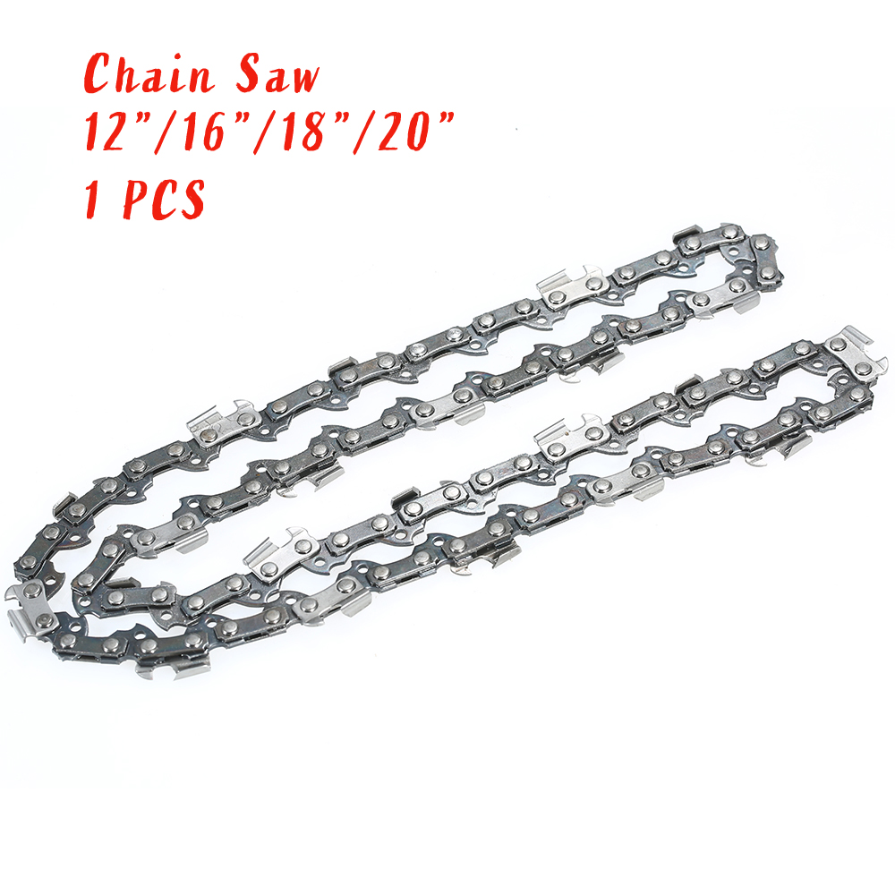12 16 18 20 Inch Drive Link Chainsaw Saw Chain Blade Wood Cutting Chainsaw Parts Chainsaw Saw Mill Chain For Cutting Lumber