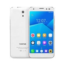 YUNTAB 5inch 4G white S505 Android6 0 tablet Quad core 2GB 32GB support Dual SIM Slots