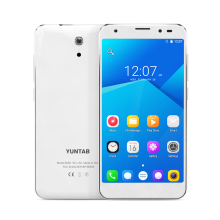 YUNTAB 5inch 4G white S505 Android6.0 tablet Quad-core 2GB+32GB support Dual SIM Slots Cellphone with Dual Camera (white)