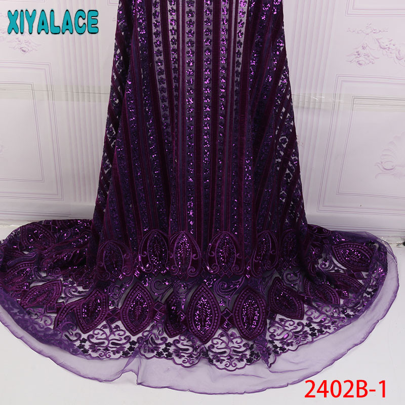 Arts,crafts & Sewing High Quality 2019 African French Net Lace Fabric With Stones French Tulle Lace Embroidery Lace Material For Women Dress Apw2473b