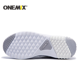 Image 4 - ONEMIX New Running Shoes women warm height increasing shoes winter sports shoes for women Outdoor Unisex Athletic Sport Shoes