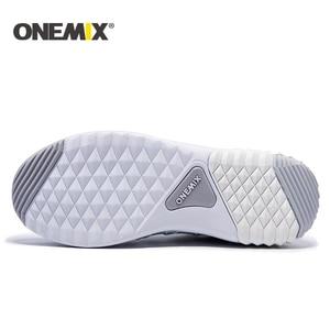Image 4 - ONEMIX Với Chạy Bộ Nữ Ấm Áp Tăng Chiều Cao Giày Thể Thao Mùa Đông Cho Nữ Ngoài Trời Unisex Thể Thao Giày Thể Thao