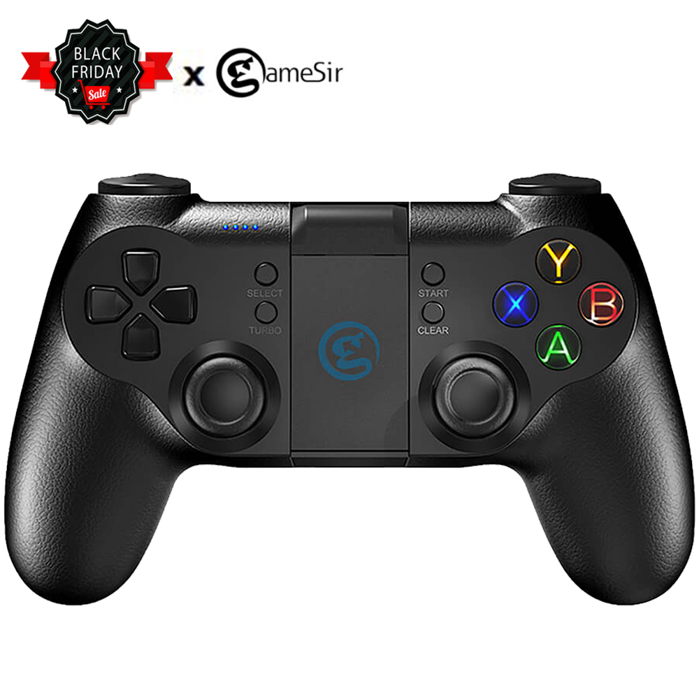 GameSir T1s Bluetooth 2 4G Wireless Gaming Controller Steam Gamepad  Joystick for Android Phone/Windows PC/VR/PS3/TV Box