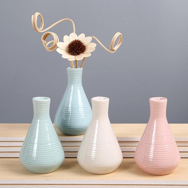 Modern Ceramic Vase Flower Bottle Plant Container Artificial Flower