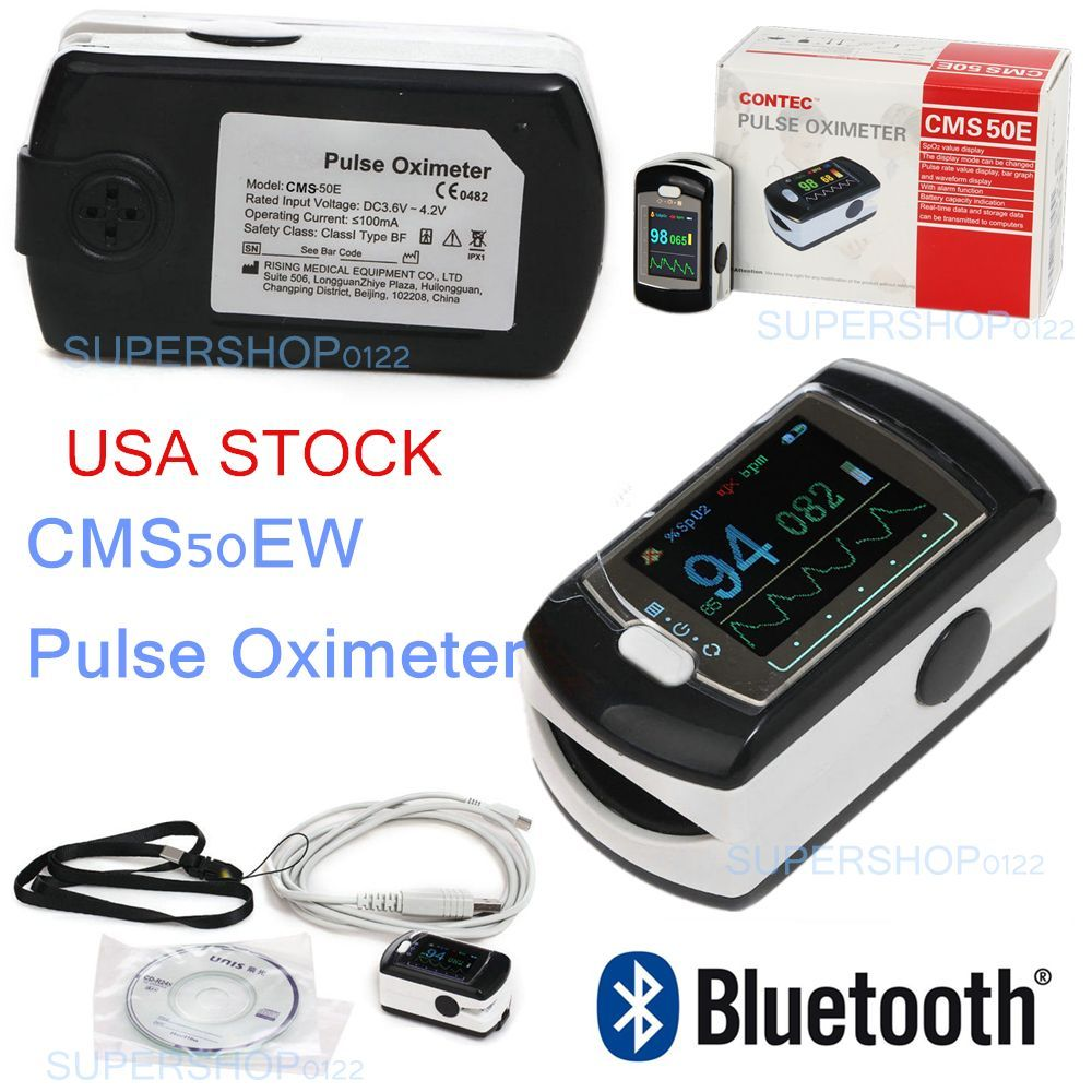 17 NEWBluetooth Wireless Finger tip pulse oximeter Blood Oxygen Saturation Monitor CMS50EW, USB SW, OLED Screen, CONTEC Oximetro gpyoja pulse oximeter finger oximetro gravity control pr spo2 pi saturometro pulsoximeter oled screen 4 colors