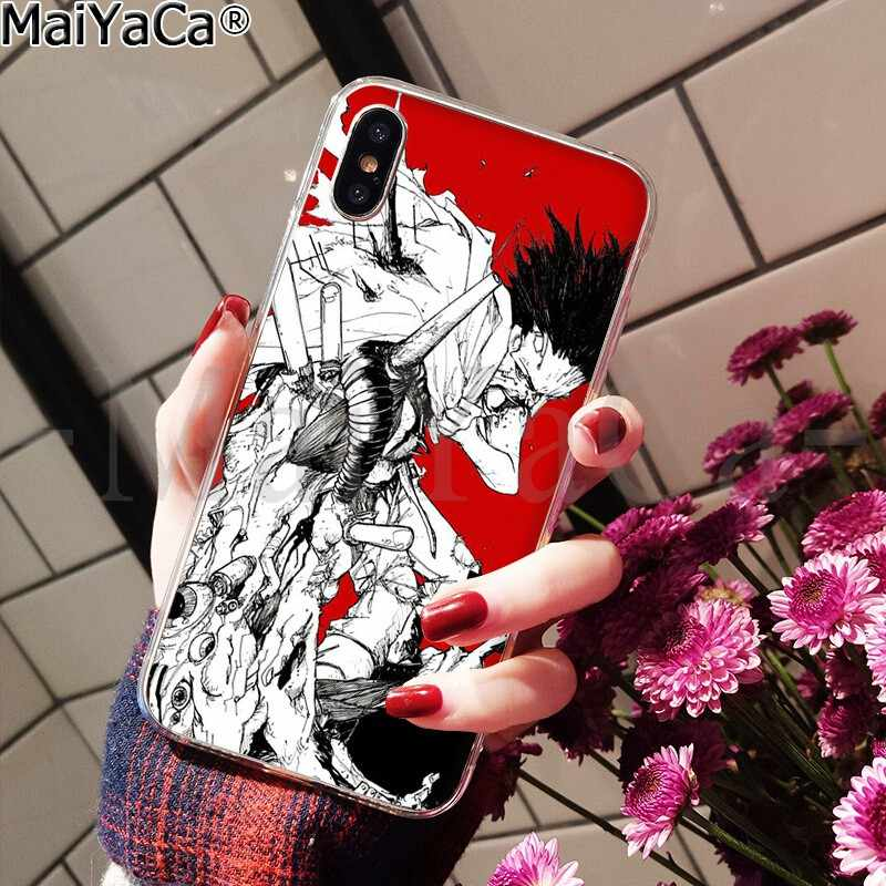 MaiYaCa AKIRA Voltron de goma suave de caso de teléfono transparente para iPhone X XS X MAX 6 6s 7 7plus 8 8Plus 5 5S SE XR