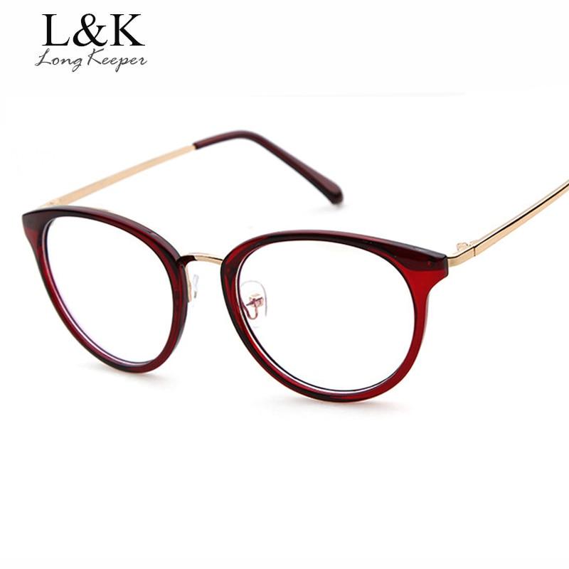 Lange Keeper Optische Gläser Rahmen Brillen Klarglas Rahmen Frauen ...