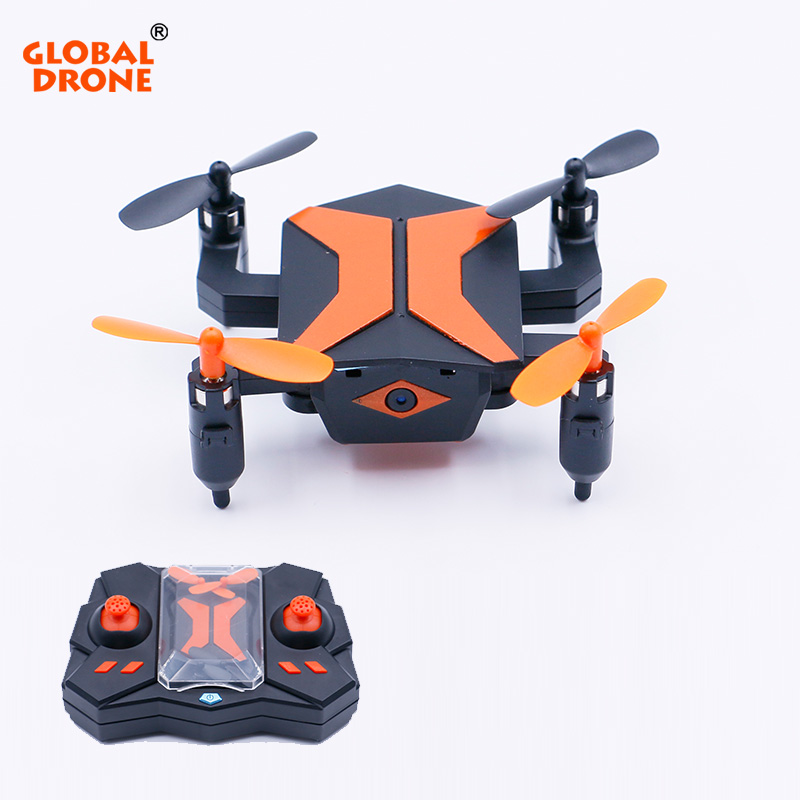 Global Drone Hot Sale 4CH 6-Axis Gyro Drone RC Quadcopter with Camera Headless Mode Mini Dron Birthday Gift Kids