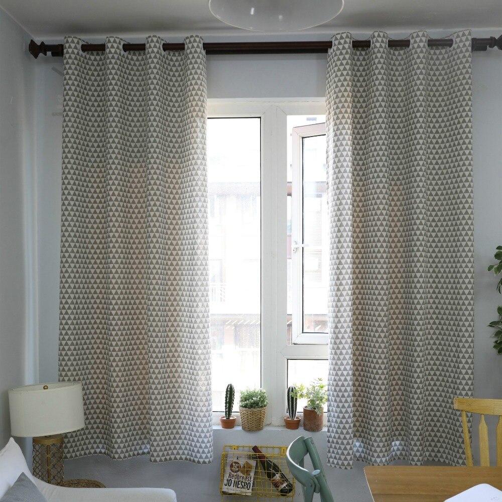 boucle tube rideau pour salon stores chambre baie vitree coton lin semi ombrage fini tissu rideau rideaux 140x215 cm