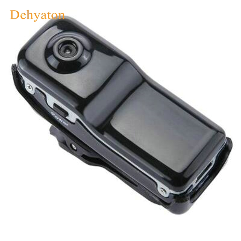 Dehyaton MD80 Mini Kamera Camcorder DV HD Aksi DVR Olahraga Portabel 720P Perekam Audio Video Deteksi Gerakan / Audio Terdeteksi