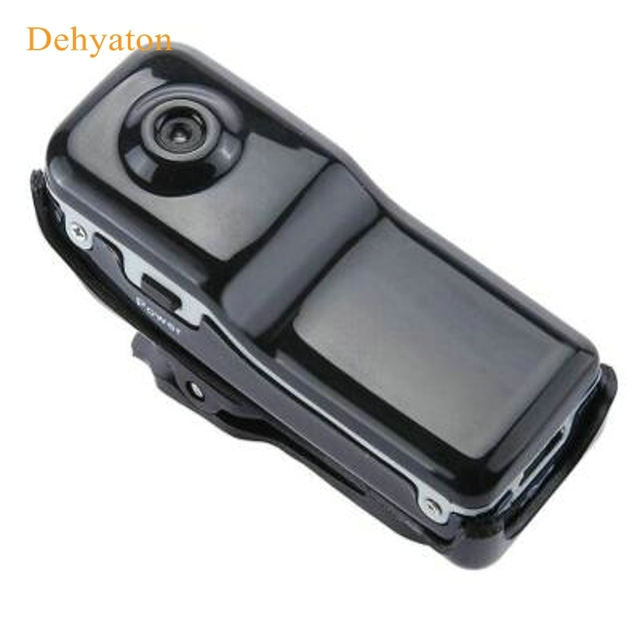 Dehyaton MD80 Mini Camera Camcorder DV HD Action DVR Sports Portable 720P Video Audio Recorder Motion Detection / Audio Detected