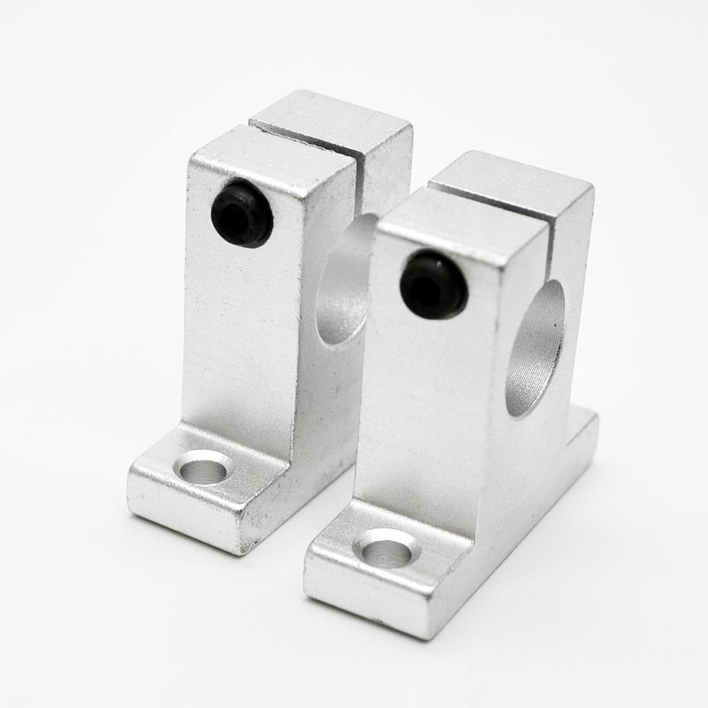 SK12 SH12A 12mm linear rail shaft support block for cnc linear slide bearing guide cnc parts швейная машина janome el546s el546s