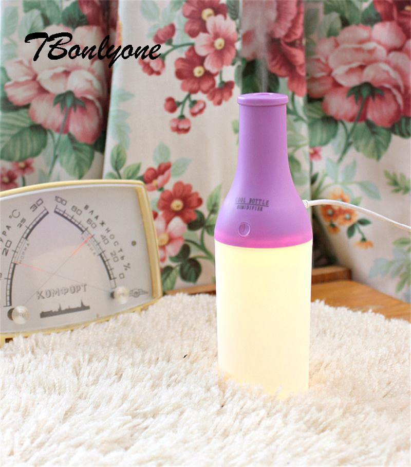 Tbonlyone  180Ml Led Light Essential Oil Aromatherapy  For Home Room Office  Aroma Diffuser Usb Car Air Ultrasonic Humidifier