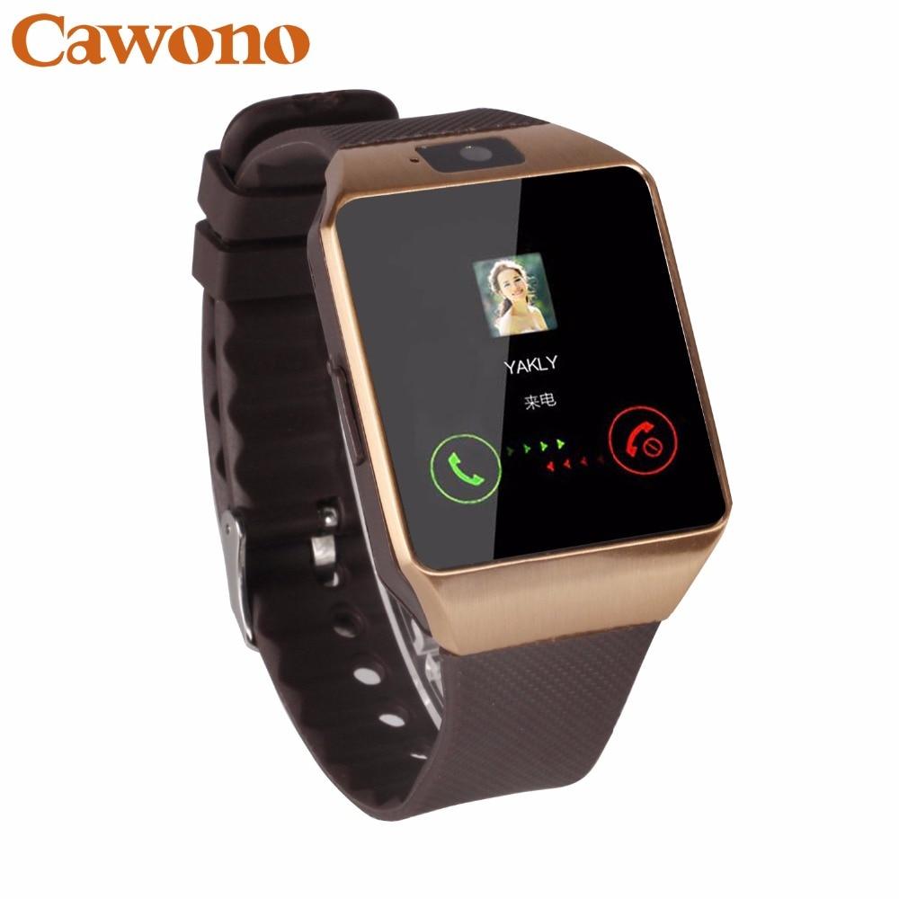 Cawono Bluetooth DZ09 Smart Uhr Relogio Android Smartwatch Anruf SIM TF Kamera für IOS iPhone Samsung HUAWEI VS Y1 Q18