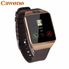 Cawono Relogio Bluetooth Smartwatch DZ09 Relogio Inteligente relogios smart watch smart watch a prova d ' água Relogio Android wearable devices Telefone Chamada relógio SIM TF Camera para IOS iPhone Android VS Y1 Q18
