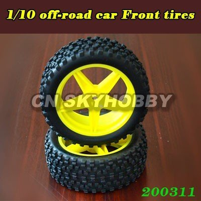 RC car wheels and tires for 1/10 off-road car #1225085