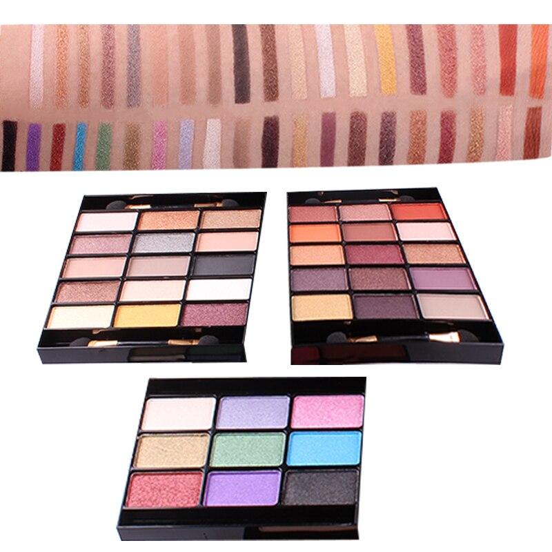 sombra kit de maquiagem destaque corar gloss 02