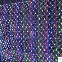 Xmas Wedding Party 96 LED Net Lights 1 5m X 1 5m Led Net Lights Lamp