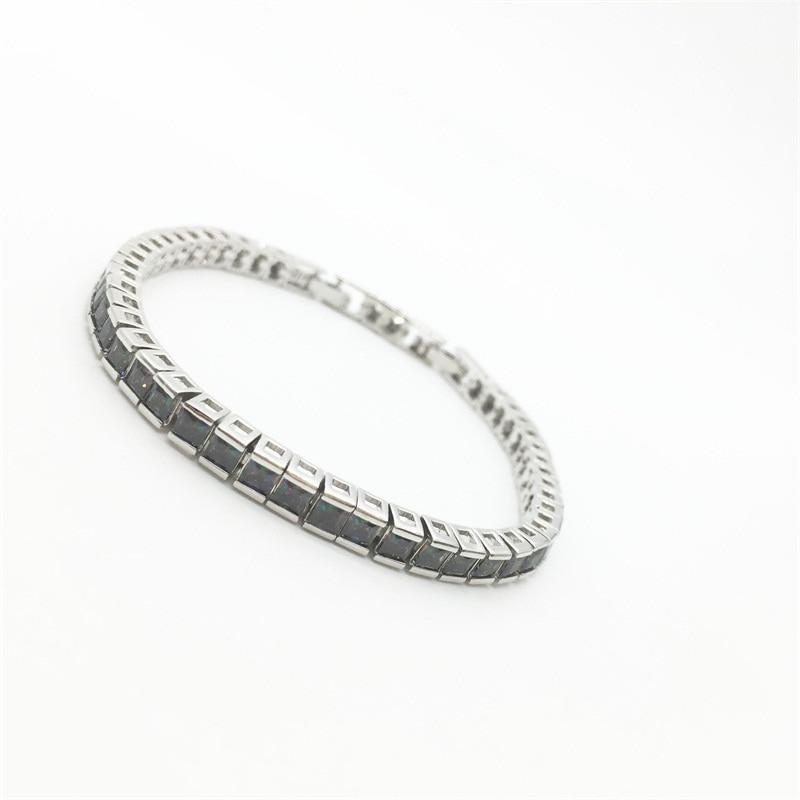 Luxury Sparkling Bracelets & Bangles For Women Rainbow