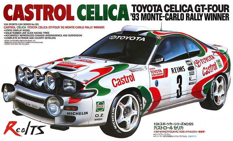 RealTS TAMIYA MODEL 1/24 SCALE #24125 93 Monte-Carlo Winner plastic model kit цена
