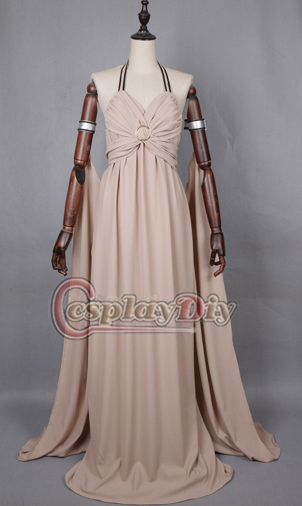 Cosplaydiy  Custom Made Game of Thrones Daenerys Targaryen Mother of Dragons Dress Cosplay Costume