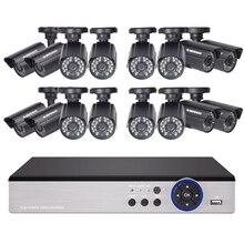 DEFEWAY 16CH 720 P AHD DVR Kit 16×720 P 1200TVL Indoor Outdoor Video Security Kamera 16 kanal CCTV-System mit Hoher Qualität Neue