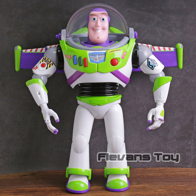 Toy Story Talking Buzz Lightyear Star Command PVC Action Figure Collectible Model Toy 4pcs set anime toy story 3 buzz lightyear woody jessie pvc action figure collectible model toy kids gifts 14 5 18cm zy468
