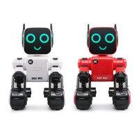 JJRC RC Robot Intelligent Program Xmas Gift Toys Interactive Sound Control Voice Record Alert Item Transfer Insert Coins Dance