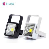 Portátil magnético LED COB luz de noche lámpara de escritorio interior lámpara de pared actividad al aire libre luz Solar USB doble modo de carga