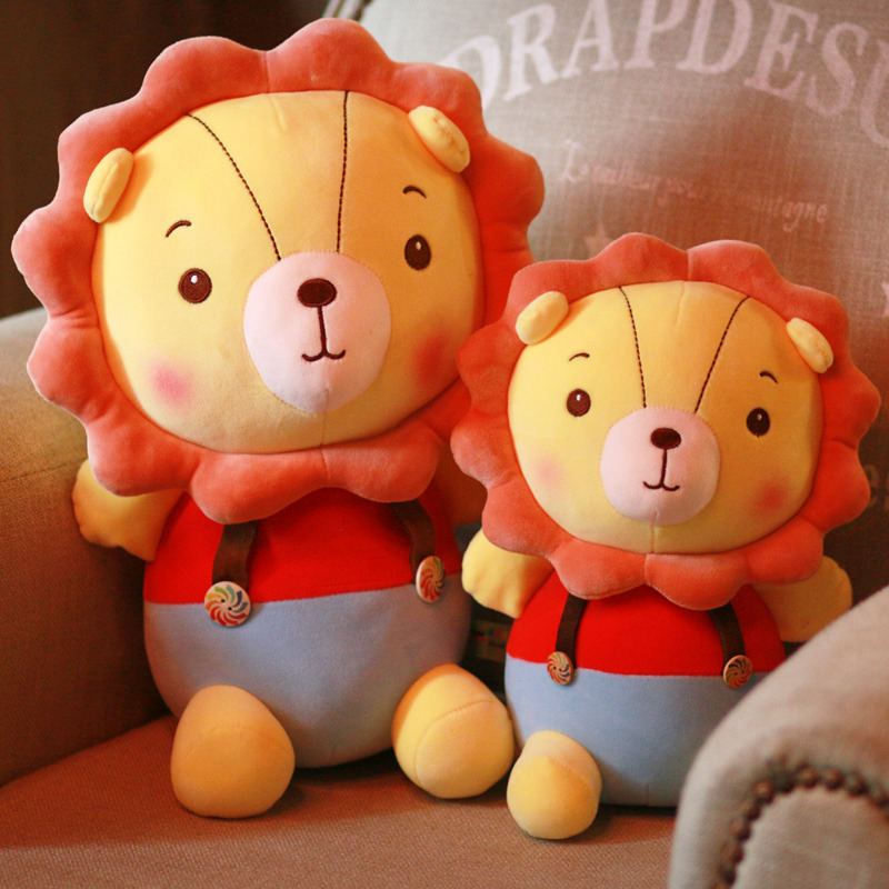 30/40/50cm Cute Plush Lion Doll Toys For Children Room Decor Stuffed Plush Toys Kids Girl Baby Appease Doll Christmas Gift