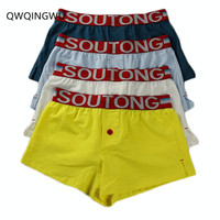 4PCS/Lot Underwear Men's Boxers Cotton Boxer Men Panties Men Underwear Cueca Homme Boxershorts Men Calzoncillos Bombre Boxers