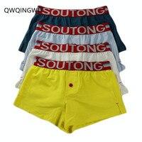 4PCS/Lot Underwear Men's Boxers Cotton Boxer Men Panties Men Underwear Cueca Homme Boxershorts Men Calzoncillos Bombre Boxers