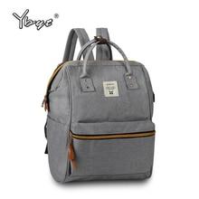 Новый средний холст опрятный стиль рюкзак bookbags аппликации женщины простой торговый пакет дамы дорожные сумки студент школы рюкзак