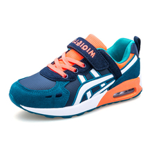 Autumn Boys And Girls Casual Sports Shoes Children's Mixed Colors Breathable Anti — skid Cushion Sneaker