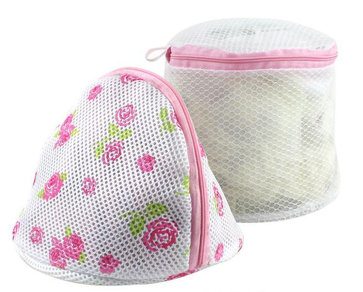 2 Pieces/Set Bra Laundry Bag Free Shipping Clothing Washing Laundry Bags Foldable Cotton Laundry Bag