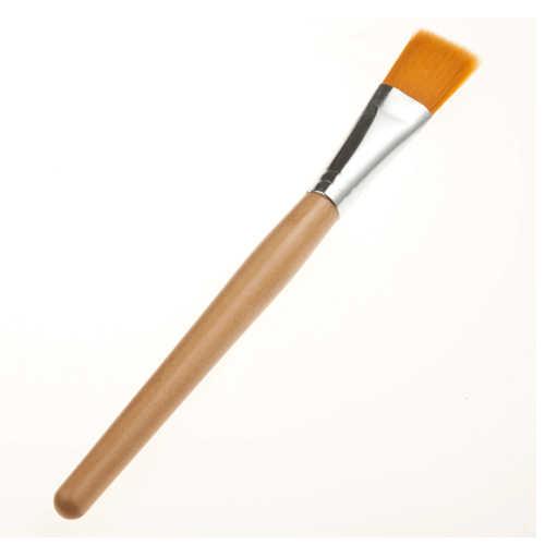 1 шт маска для лица кисти для макияжа Кисти с деревянными ручками мягкое волокно основа для волос Макияж Лицо грязевая Кисть косметическая кисть для ухода за кожей Инструменты