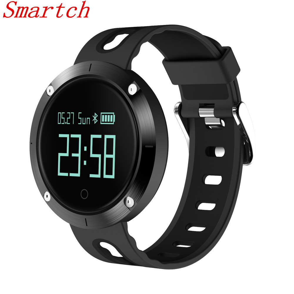 Smartch DM58 Smart Bracelet IP68 Waterproof Blood Pressure Heart Rate Monitor Call Reminder Sports Smart Band