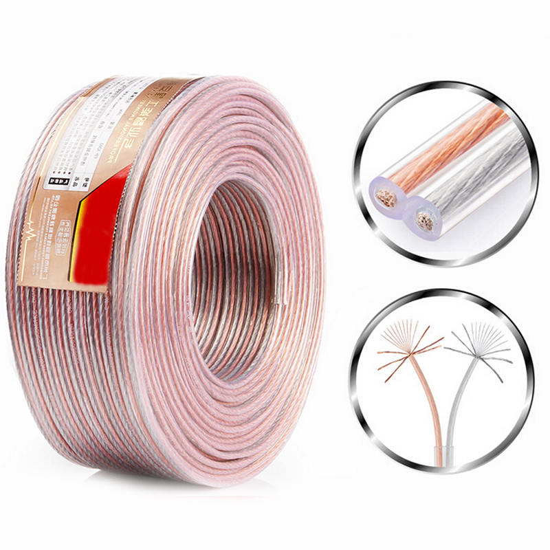 Ofc Copper Wire Line For Diy Car Speaker Cable Audio Wire