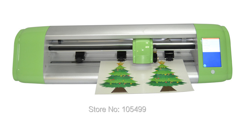 2018 Hot sale 15 inch Smart cutting plotter have HD camera and Free flexi software Automatically
