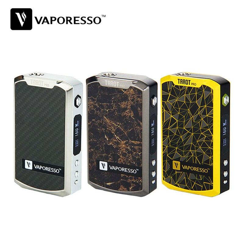 Prix pour 100% D'origine 160 W Vaporesso TAROT PRO VTC MOD Max Sortie Soutient VW/CCW/VT/CCT/TCR/Dérivation Modes Électronique Cigarettes VA02