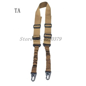 Image 3 - Mayitr Military Heavy Duty Gun Belt Strap Tactical 2 Points Nylon Bungee Rifle Sling Outdoor Gun Accessories