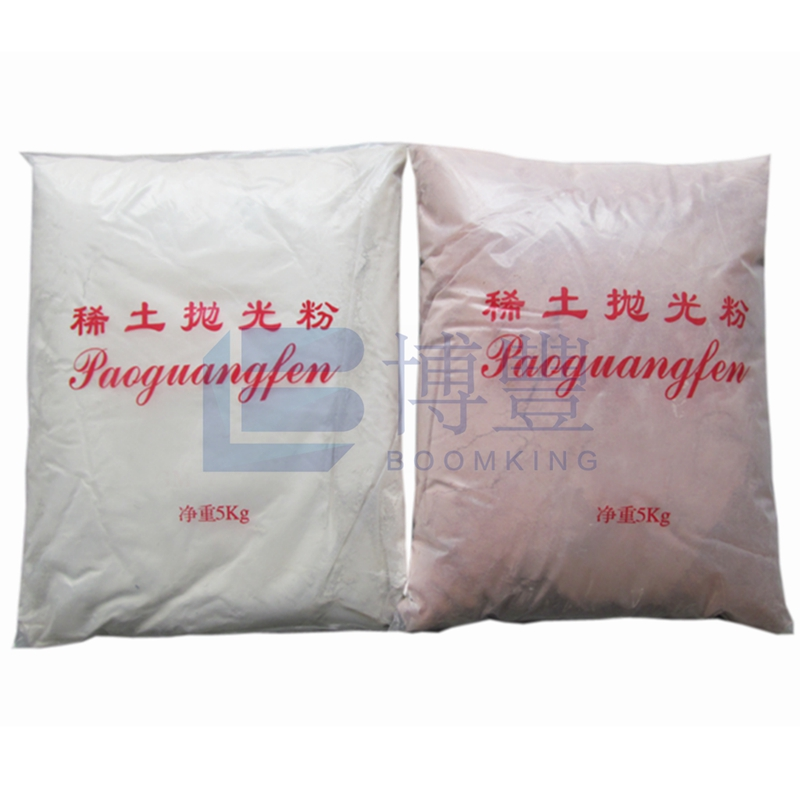Good quality Mirror Glass polishing powder cerium oxide white color or red color