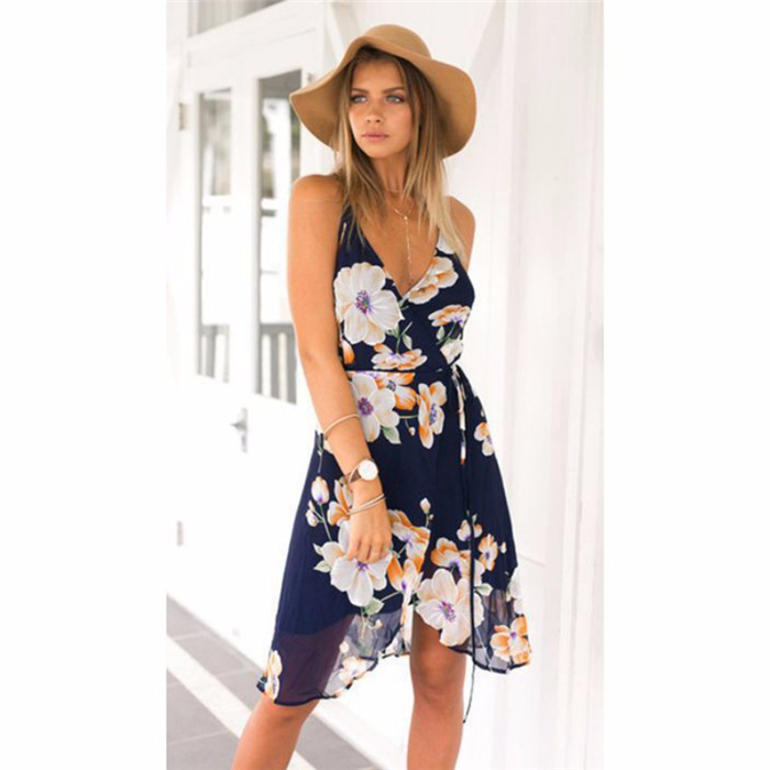 HTB1.4ObQFXXXXbnXFXXq6xXFXXXR - Women Summer Dress Print Sleeveless JKP052