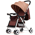 Newborn Baby Stroller 3 in 1 Portable Folding Strollers Sit and Lie Four Wheels 2016 Convience Prams Umbrella Stroller 0-3Years