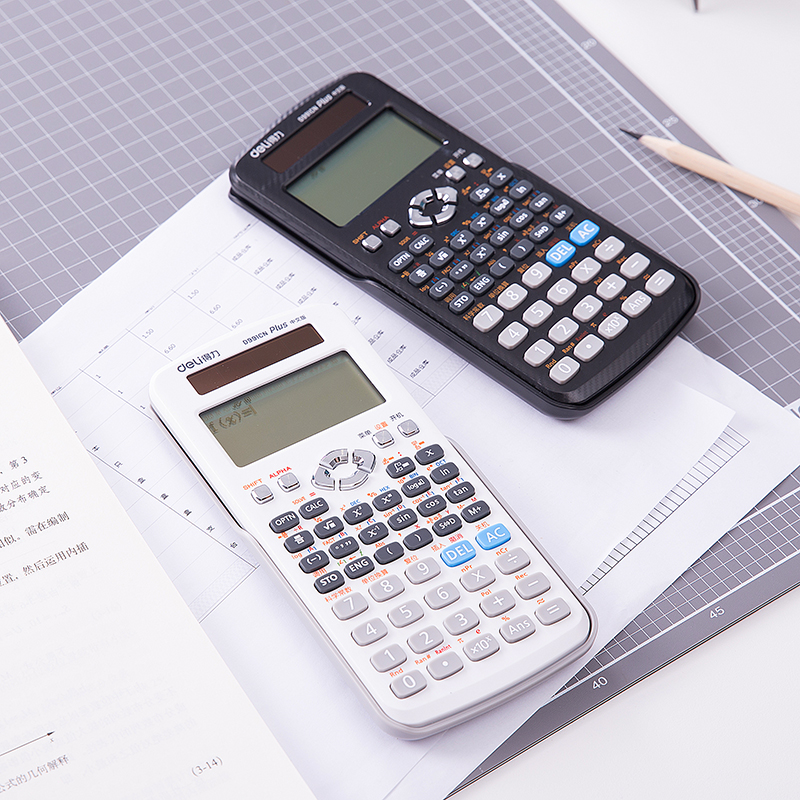 16 digits solar energy function cientific calculator office students test scientific financial calculator Deli D991CN multiview advanced scientific calculator calculating instruments for students office xxm8