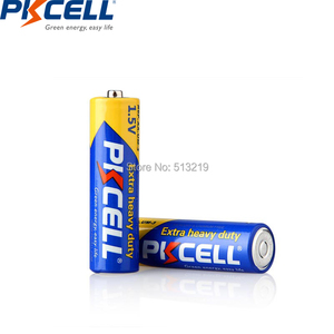 Image 3 - 20Pcs/PKCELL AA Battery 1.5v R6P UM3 Carbon Duty batteries 2A Primary and Dry Batteries for camera calculator mp3 player ect