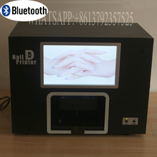 free shipping bluetooth nail printer machine wileless transfer images to printer to print out nail and flower printer